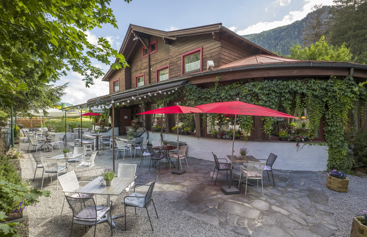 Restaurant and Cafe in Mayrhofen - Waldcafe